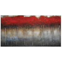 Crimson Forest Canvas