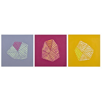 Waterfort Matte Canvas, Set of 3