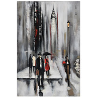 Bustling City II Canvas