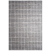 Alberto Grey and White Rug