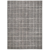 Renwil RALB-61090-7998 Alberto 116 X 93 inch Grey with White Indoor Area Rug