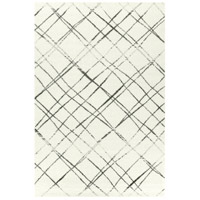 Allure 108 X 84 inch White and Black Indoor Area Rug