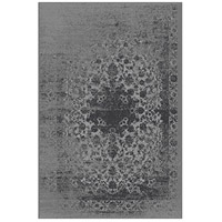 Azure 86 X 62 inch Grey and Black Indoor Area Rug