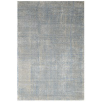 Casper 90 X 62 inch Blue and White with Beige Indoor Area Rug