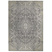Renwil RDOM-081090-810 Dominion 116 X 89 inch Grey with White Indoor Area Rug