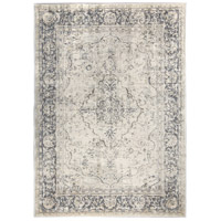 Renwil RDOM-100990-58 Dominion 86 X 60 inch Light Grey with Cream Indoor Area Rug