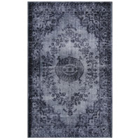 Istanbul Dark Grey and Silver Rug