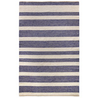Grant 108 X 72 inch Blue with Cream Indoor Area Rug