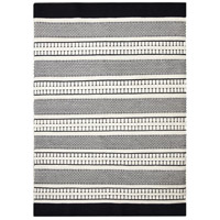 Monochrome 116 X 93 inch Beige with Black Indoor Area Rug