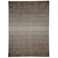 Surface Waves Brown and Grey Rug