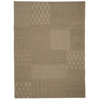 Textora Beige and Black Rug