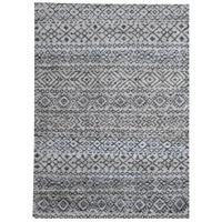 Yasmine 116 X 93 inch White and Grey Indoor Area Rug