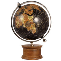 Christopher Natural and Nickel Globe