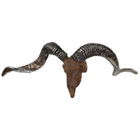 Renwil STA473 Waterbuck Rusting and Antique Silver Wall Accent STA473_angle.jpg thumb