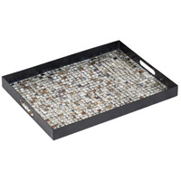 Cartier Black and Multicolor Mosaic Tray, Small