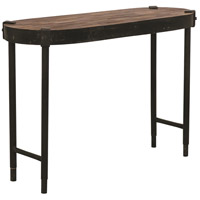 Renwil TA098 Seewald 41 inch Rusted Metal and Weathered Wood Console Table Home Decor