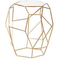 Renwil TA110 Veil 19 inch Gold Powder Coated Accent Table Home Decor