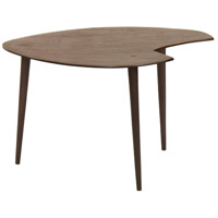 Pseudo II 14 inch Dark Grey Accent Table Home Decor