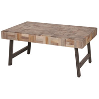 Kent 36 inch Tea Leaf and Black Coffee Table Home Decor