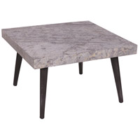 Salem 23 inch Natural Stone Veneer Coffee Table Home Decor