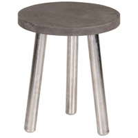 Renwil TA139 Tier 17 inch Natural and Brushed Silver Accent Table Home Decor