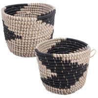 Delphine 9 X 9 inch Baskets, Small, Set of 2
