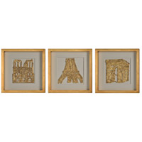 The Old Continent Wall Decor, Set of 3