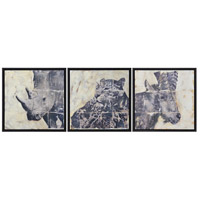 Renwil W6482 Wyler Textured Wall Decor, Medium, Set of 3