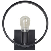 Delamar 1 Light 10 inch Matte Black Wall Sconce Wall Light, Small