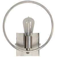 Renwil WS027 Prenza 1 Light 10 inch Satin Nickel Wall Sconce Wall Light Small