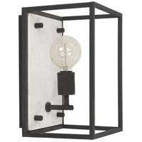 Bruington 1 Light 8 inch Black Wall Sconce Wall Light, Small