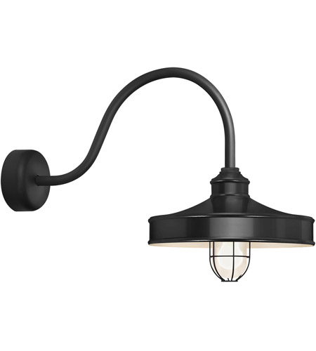 Black Aluminum Nostalgia Wall Sconces