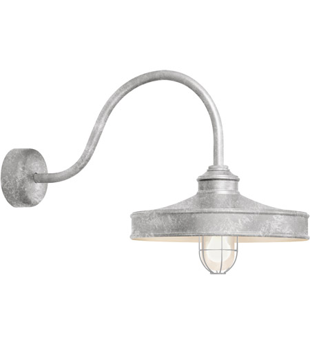 Galvanized Aluminum Nostalgia Wall Sconces