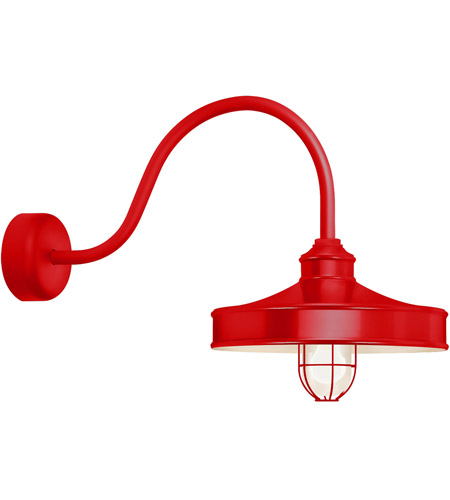 Red Aluminum Nostalgia Wall Sconces