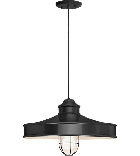 Troy Rlm Lighting 5dnc16mfggbk Bc Nostalgia 1 Light 16 Inch Black Pendant Ceiling Frosted Gl Clics