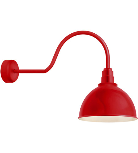 Red Aluminum Wall Sconces