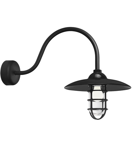 Black Retro Industrial Wall Sconces