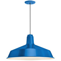 Troy RLM Lighting 5DRS16MBLU-BC Standard 1 Light 16 inch Blue Pendant Ceiling Light RLM Classics