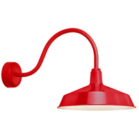 Troy RLM Lighting RS16MRD3LL23 Standard 1 Light 16 inch Red Wall Sconce Wall Light in 23in Arm RLM Classics
