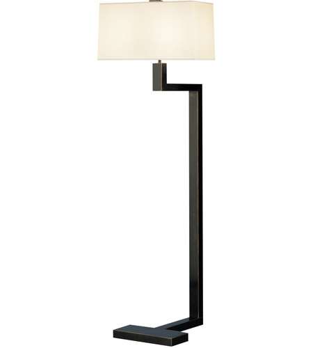 53 inch 100 watt deep patina bronze floor lamp portable light photo. Black Bedroom Furniture Sets. Home Design Ideas