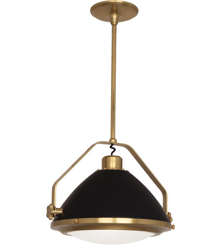 Robert Abbey Matte Black Painted Pendants