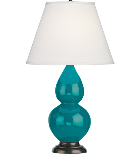 Peacock Small Double Gourd Table Lamps