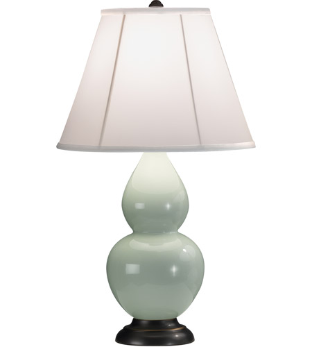 Celadon Small Double Gourd Table Lamps