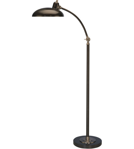Robert Abbey Lead Bronze Floor Lamps