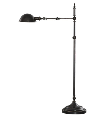 Robert Abbey 1863 Ant Bee 41 inch 60 watt Deep Patina Bronze Floor Lamp Portable Light