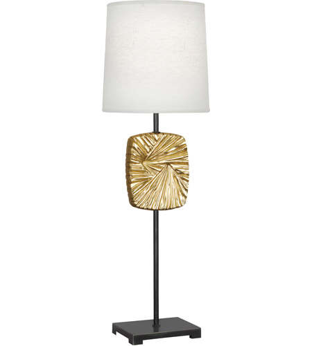 Robert Abbey 2051 Michael Berman Alberto 32 inch 100 watt Modern Brass with Deep Patina Bronze Table Lamp Portable Light photo