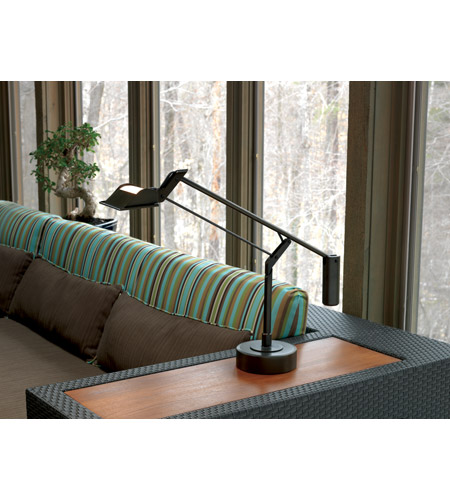 Robert Abbey 2107 Crane 13 inch 35 watt Dark Brushed Nickel Table Lamp Portable Light 2107-Glam.jpg