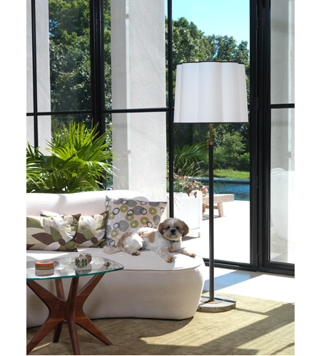 Robert Abbey 2131 Axis 58 inch 150 watt Aged Brass with Cocoa Brown Floor Lamp Portable Light in Fondine 2131--GLAM.jpg