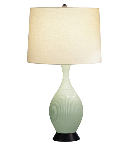 Robert Abbey 223 Ariel 26 inch 150 watt Celadon Table Lamp Portable Light