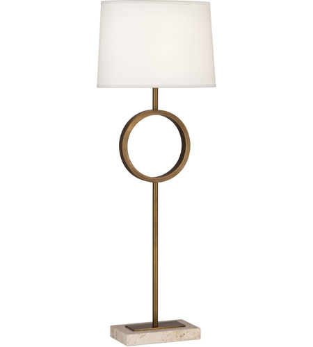 Robert Abbey Travertine Table Lamps